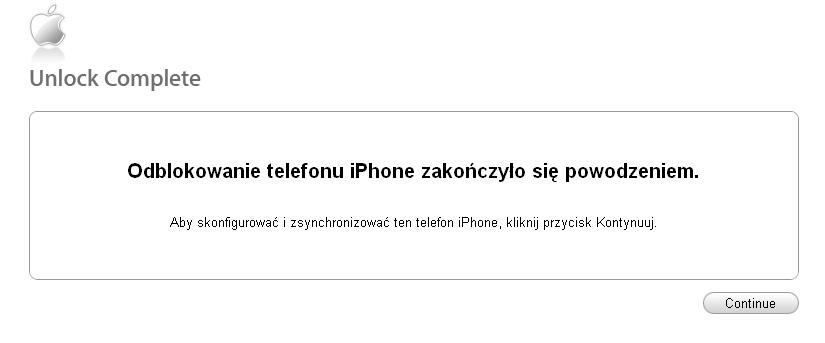 Simlock / Unlock iPhone